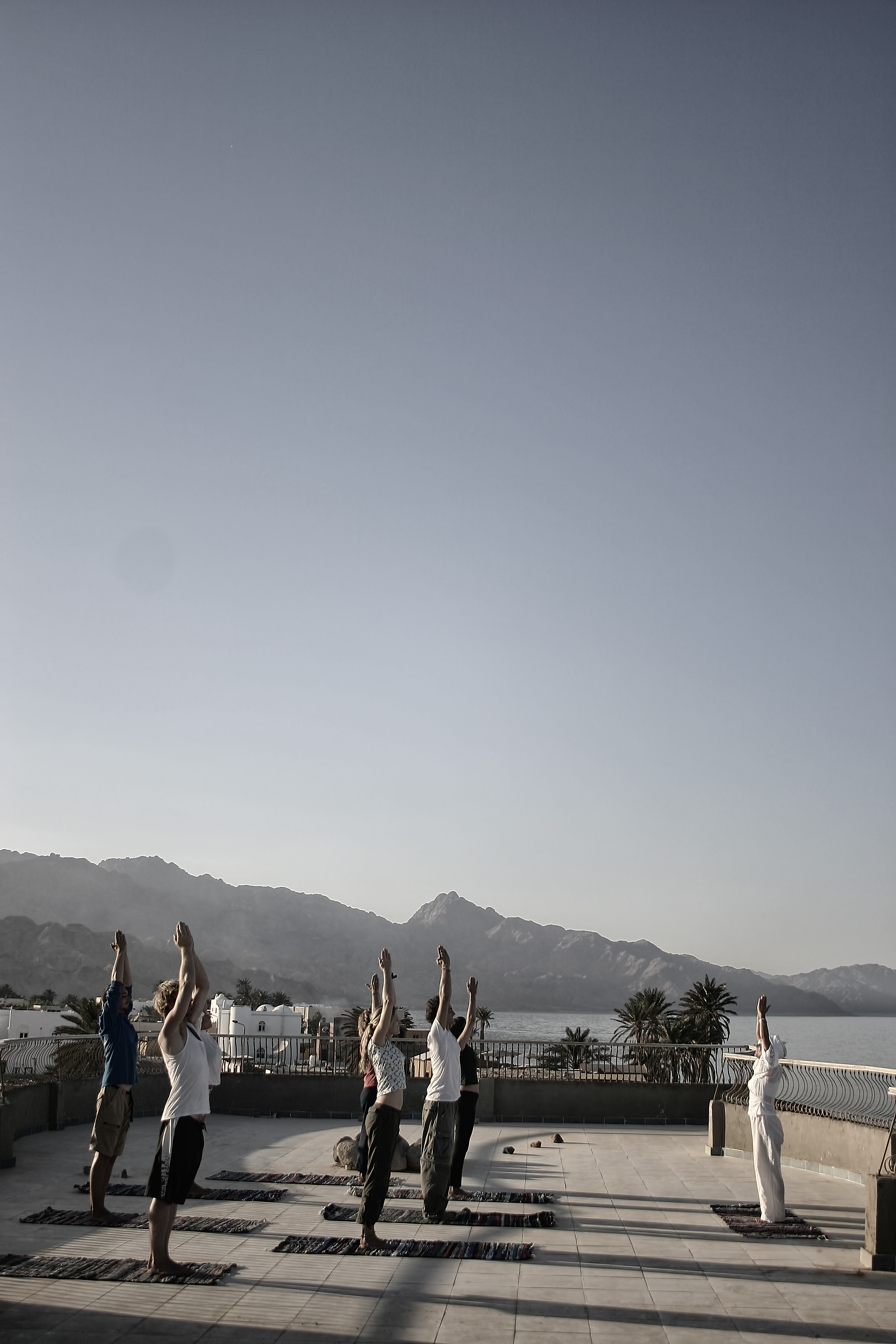 Yoga in stunning environments