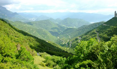 Someone else's view of the Vercors countryside!