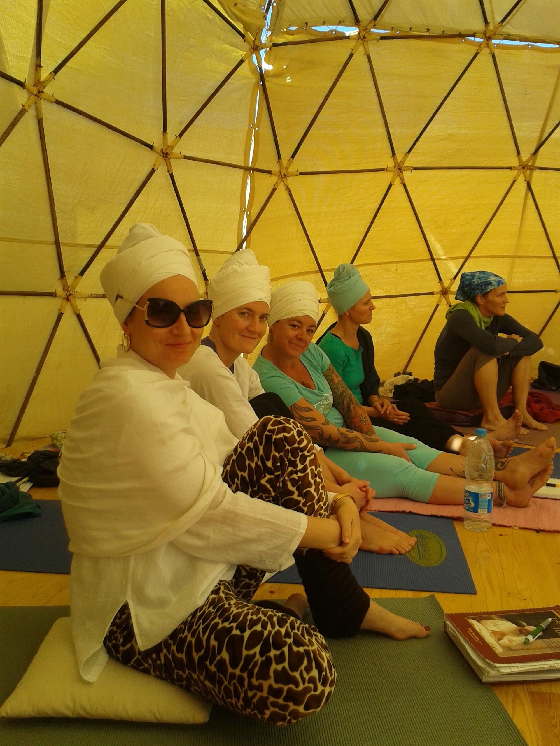Try wearing a turban - it feels amazing!