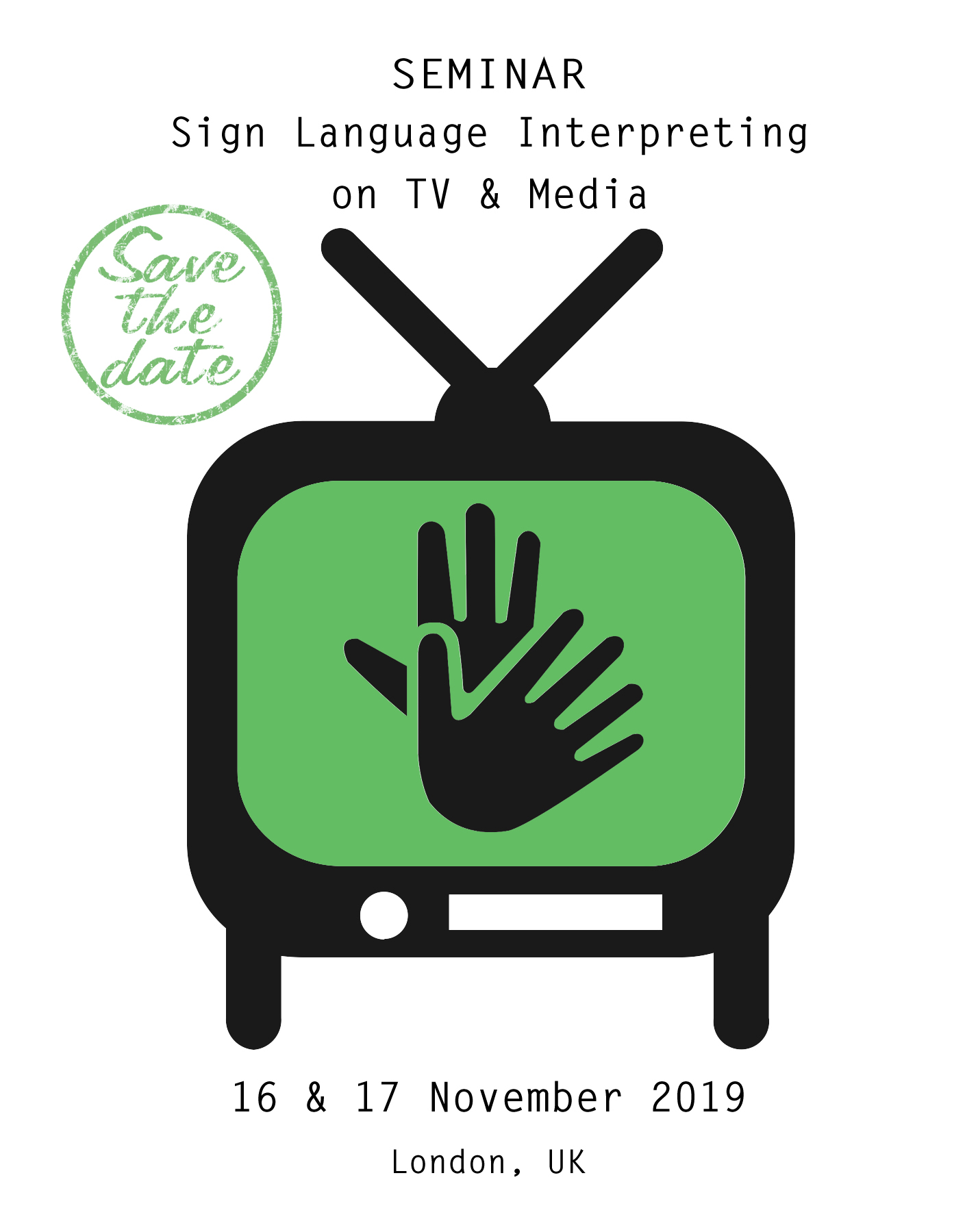 Save the date GREEN - Logo TV interpreting seminar with text - white background kopie.jpg