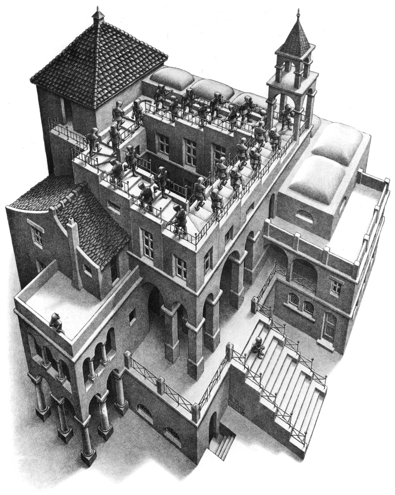 'Ascending and Descending' by M.C. Escher