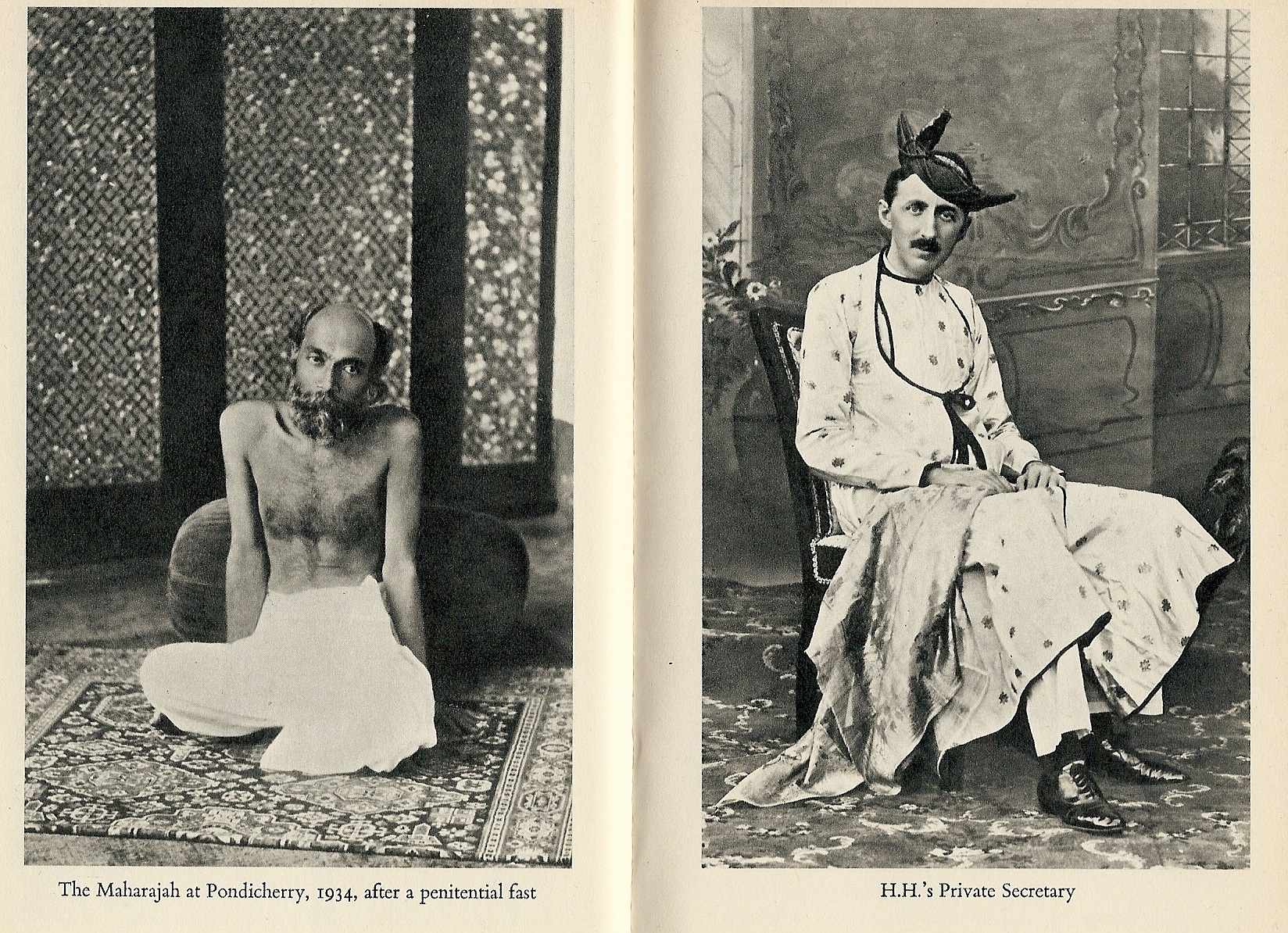 The writer EM Forster as private secretary to the Maharajah at Pondicherry, 1934 - a period covered in this novel.