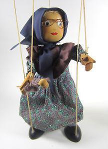A Madame Defarge        Normal   0       false   false   false                      MicrosoftInternetExplorer4        marionette puppet  makes a strange unsettling appearance in the novel