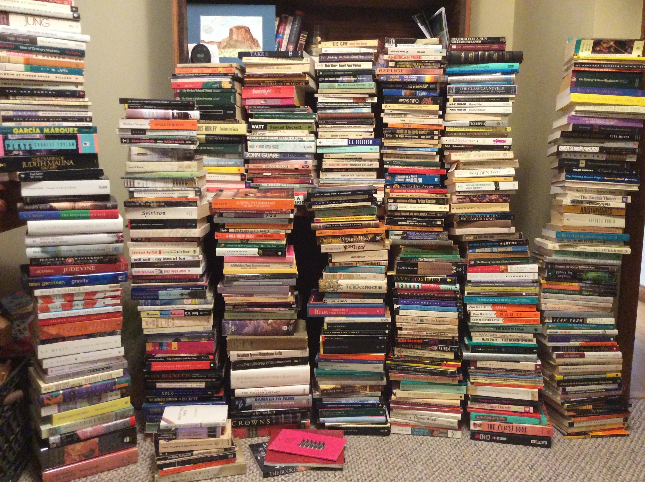 Books I'm giving away