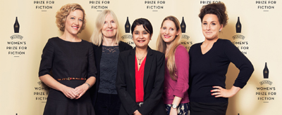 2015 Judges: Cathy Newman, Helen Dunmore, Shami Chakrabarti, Laura Bates and Grace Dent