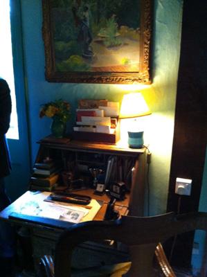 Virginia's desk