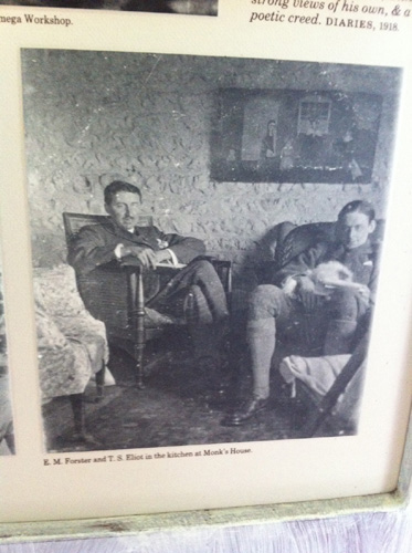 Forster & TS Eliot at Monk's House