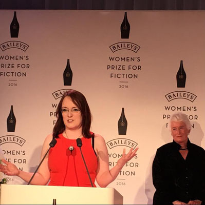 Lisa McInerney's acceptance speech.