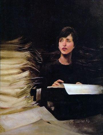Painting by Renee Heinecke