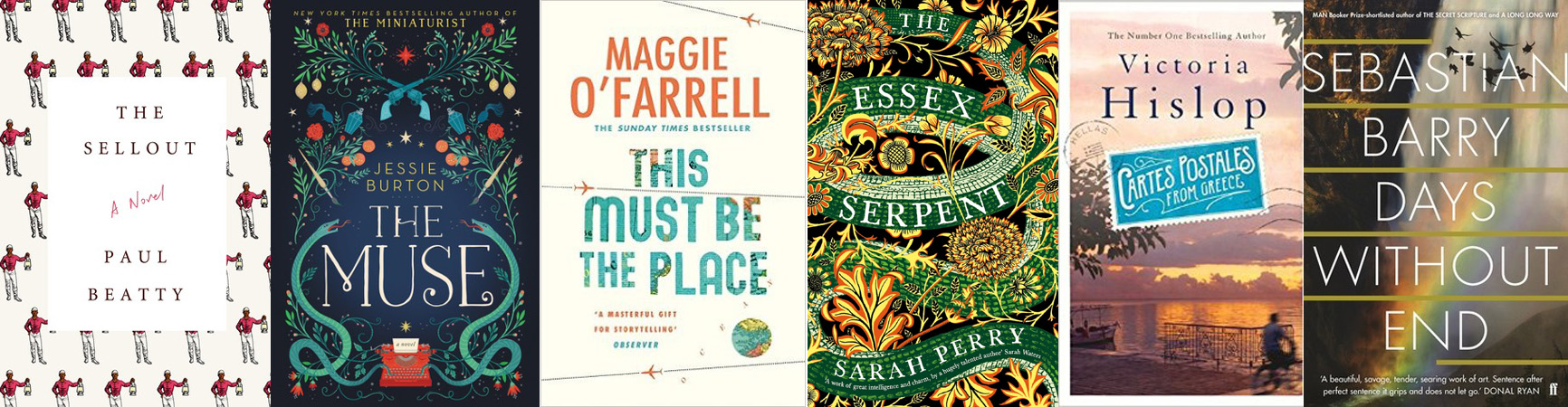 The British Book Awards / Nibbies 2017 Fiction Book of the Year Shortlist