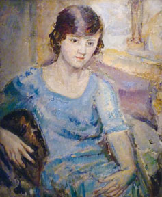 Portrait of Barbara Hepworth by Ethel Walker