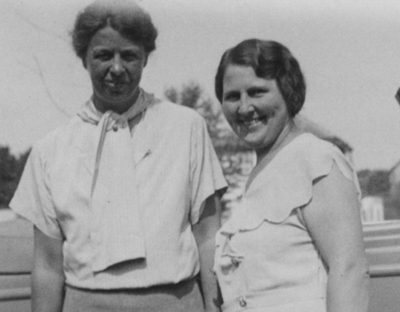 Eleanor Roosevelt and Lorena Hickock