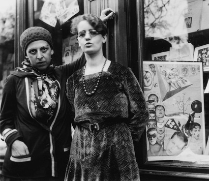 Claude Cahun & an unknown woman