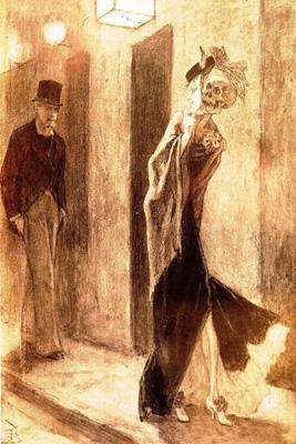 Félicien Rops, La parodie humaine (1878)