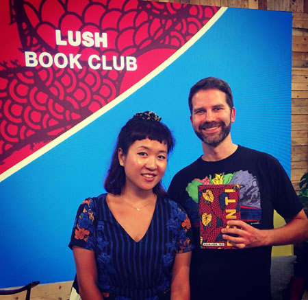 It was lovely meeting Sharlene Teo at the Lush Book Club