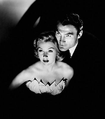 Jack Palance and Gloria Grahame in 'Sudden Fear'