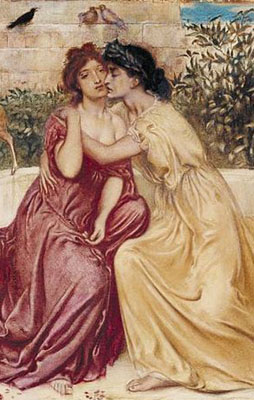 Sappho & Erinna in a Garden at Mytilene