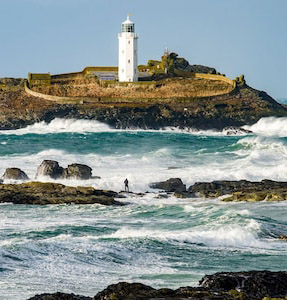Godrevy Lighthouse - Woolf's inspiration for the lighthouse in her novel