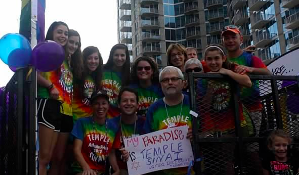 Temple Sinai at Pride
