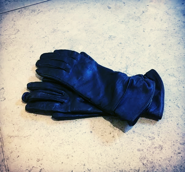 Soft Leather Gloves On Hard Cock = ACE! -