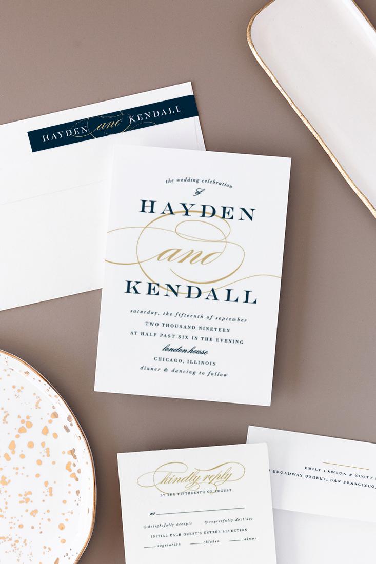 Sullavan Wedding Invitation