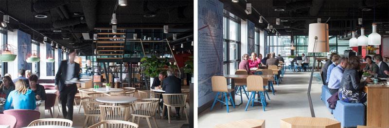Colé _ Piet Hein Building Amsterdam, Secreto chair and Tria Simple. // August 2014