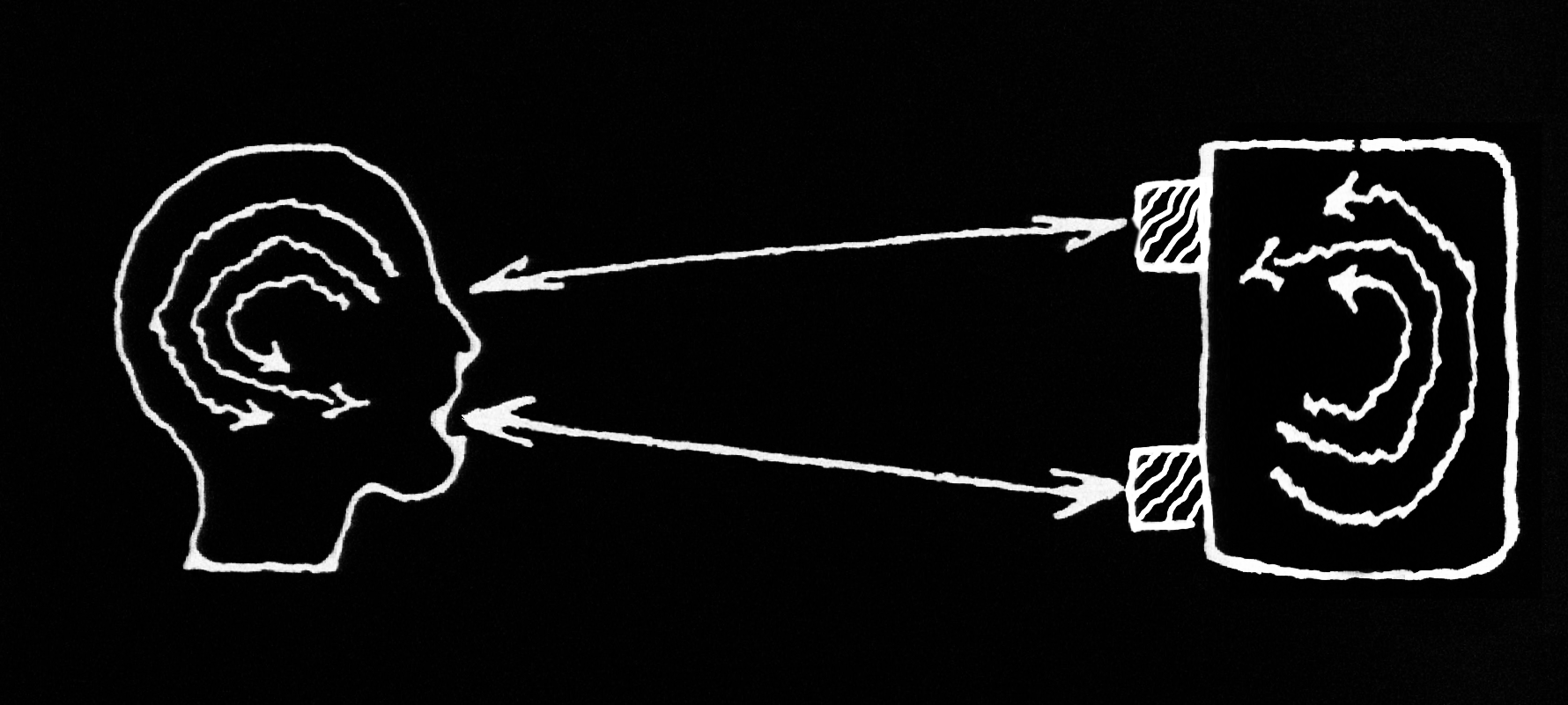 Figure 5 –Reconfiguring the director-agent model to the agent-agent model of human-machine interaction.
