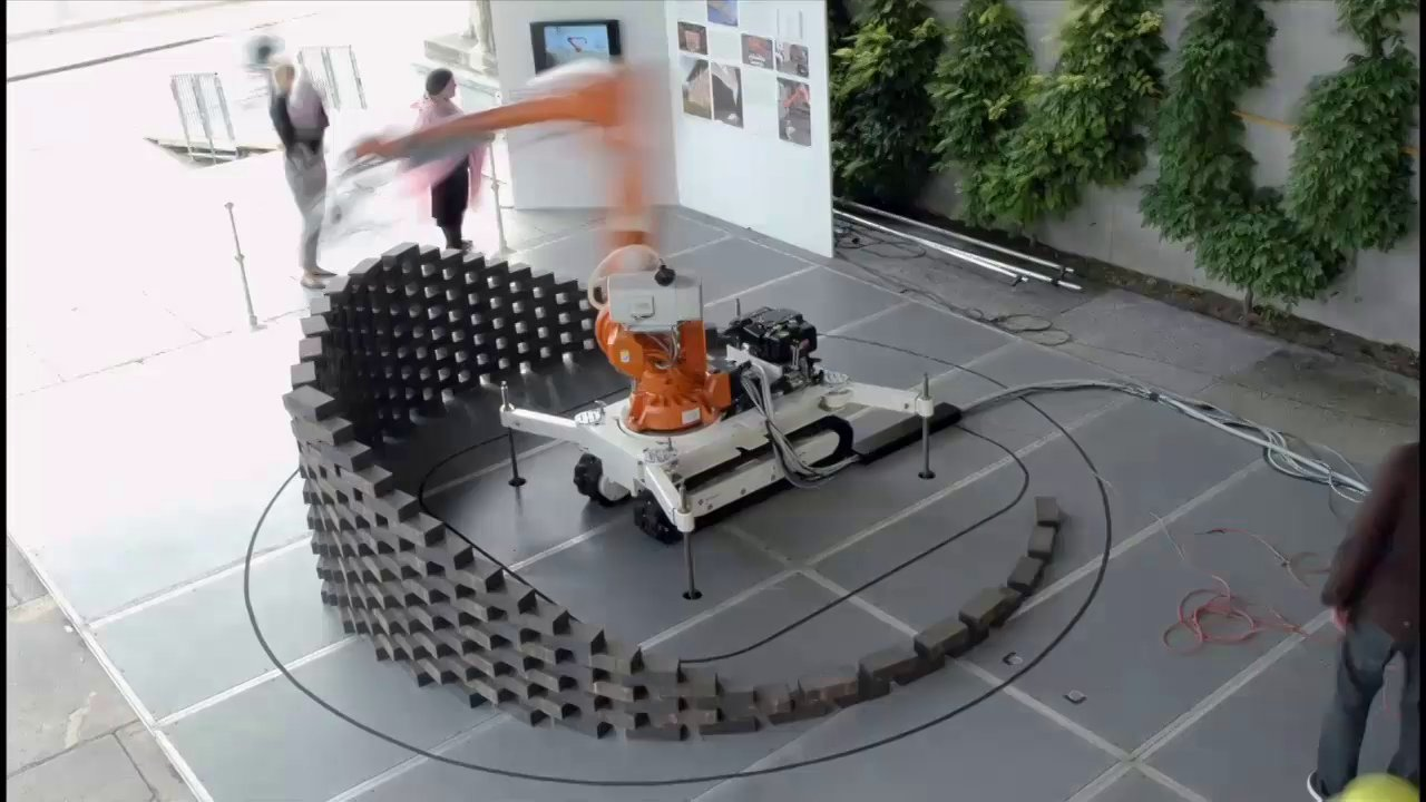 Industrial Robot as Brick Layer