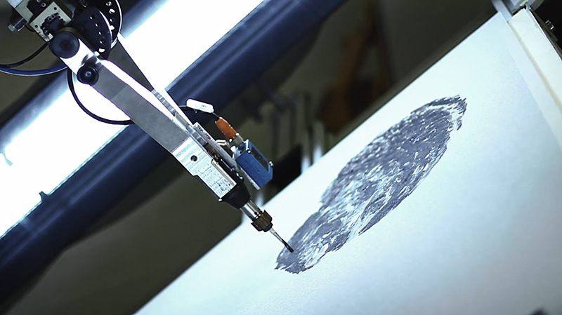 Industrial Robot as Painter