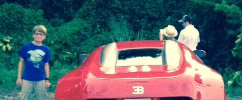 I woke up in a new Bugatti.