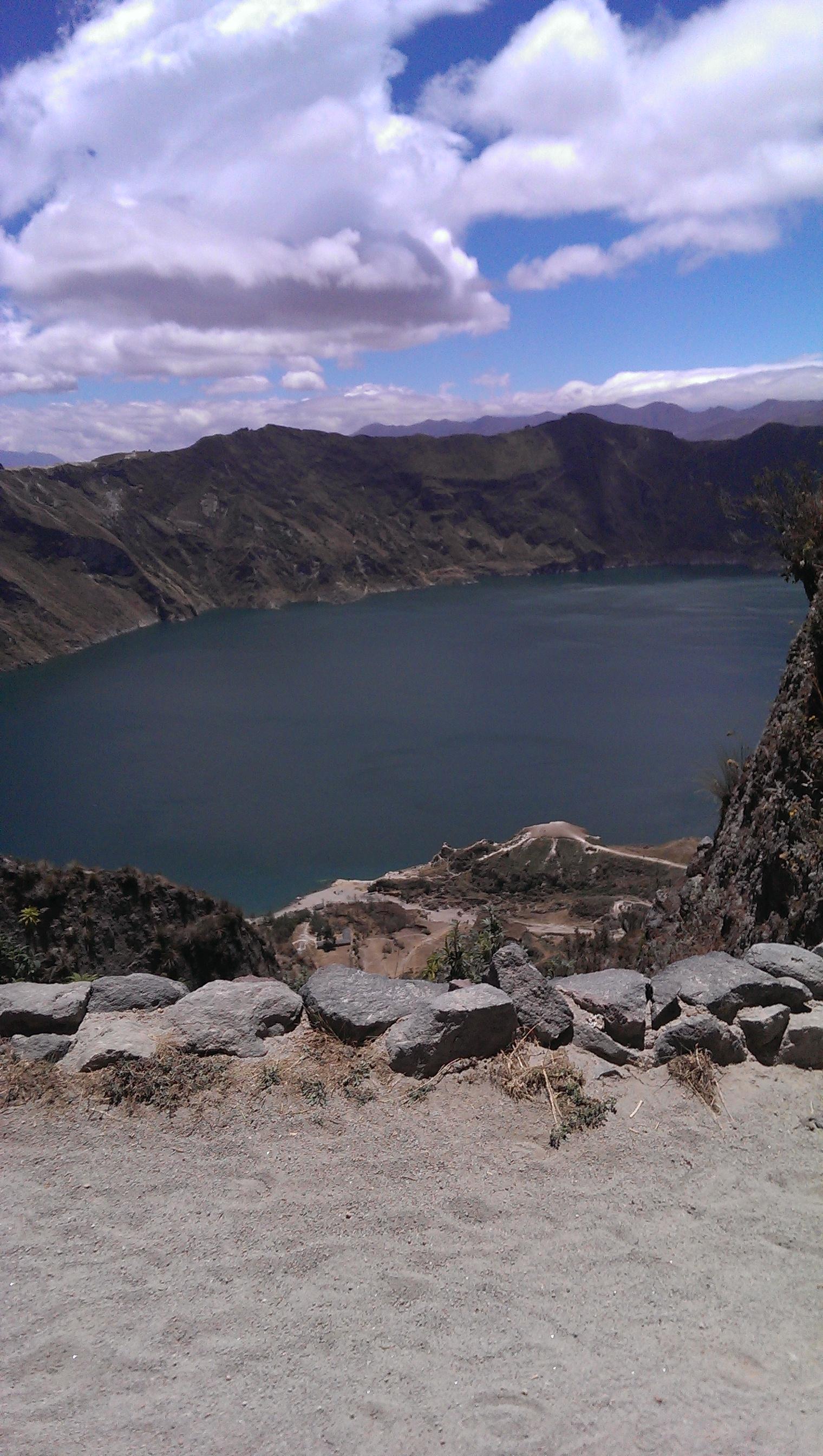 Quilatoa Crater