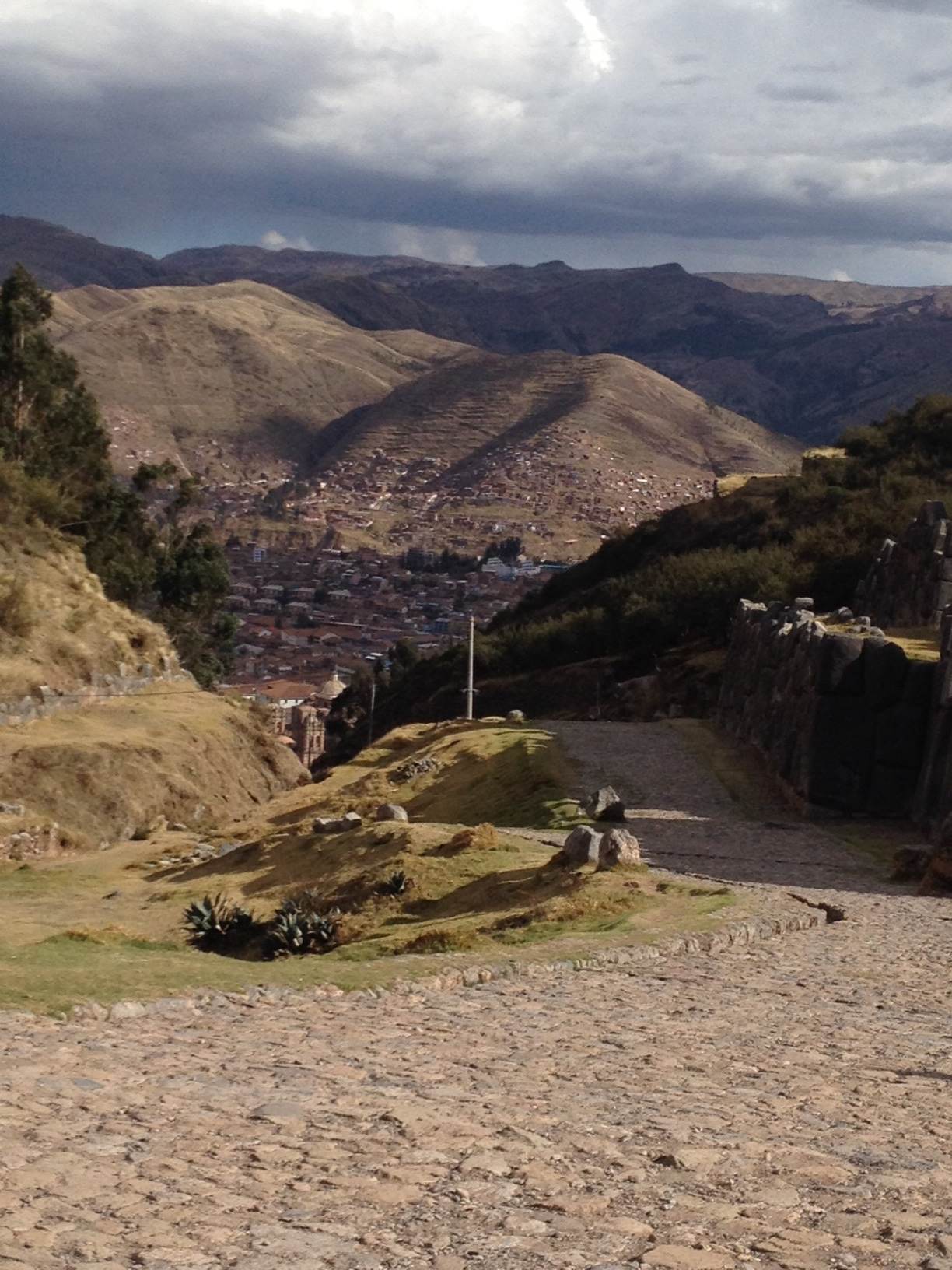The road back to Cusco
