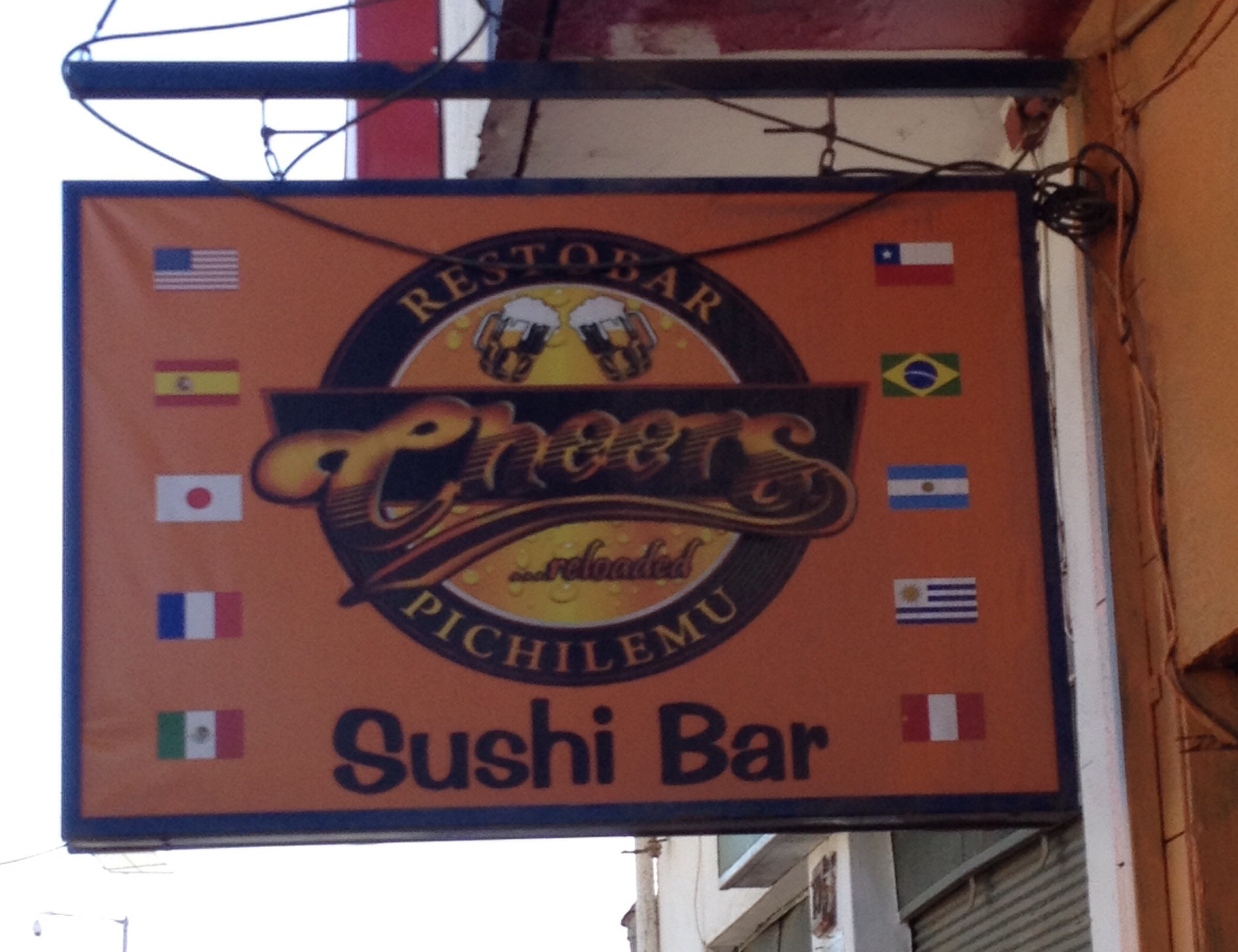 Hmmm, didn't think Cheers was a sushi place...