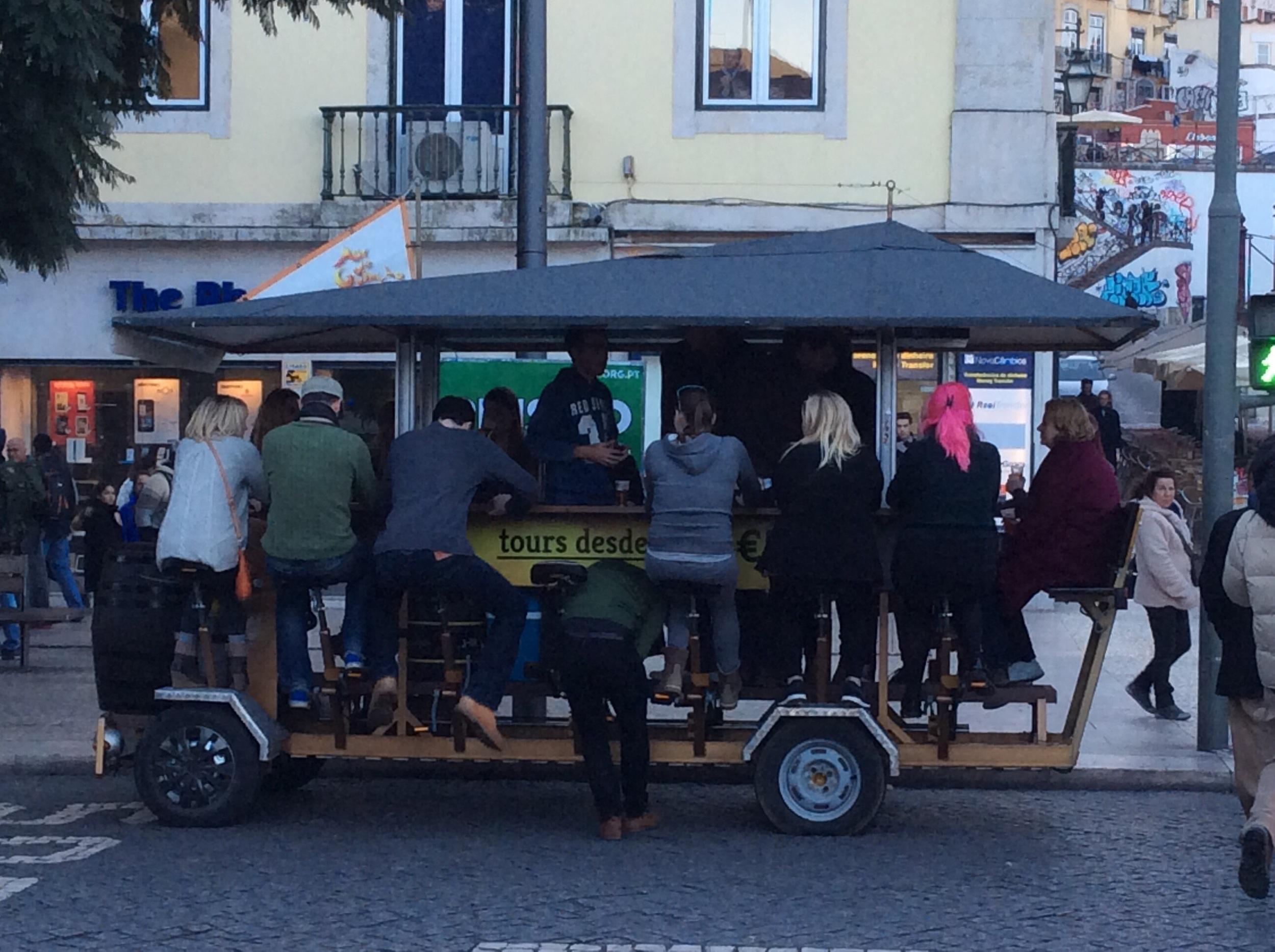 Mobile pub!!!