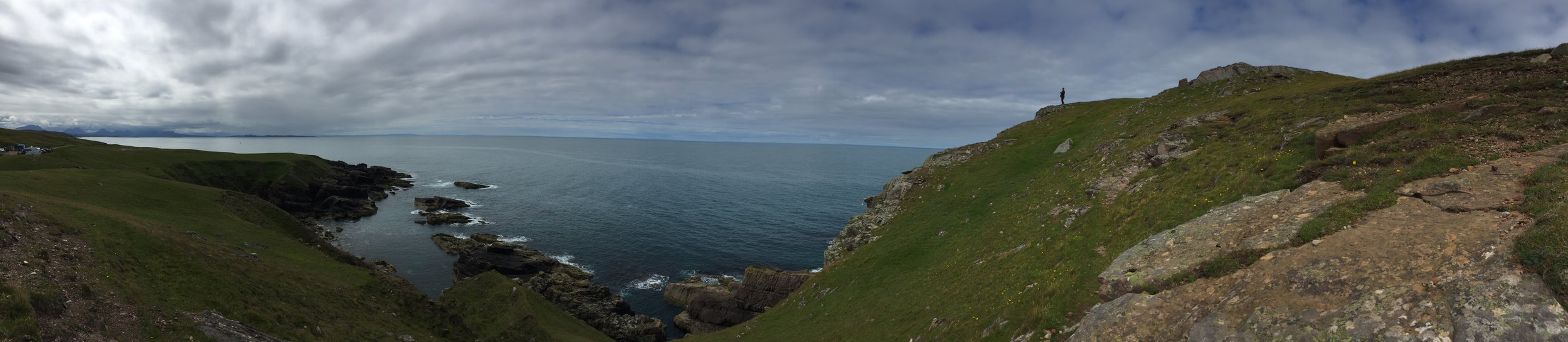 A stop at the Stoer Lighthouse