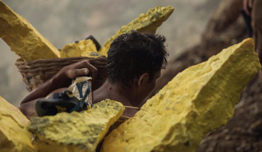 Sulfur Miners of Kawah Ijen