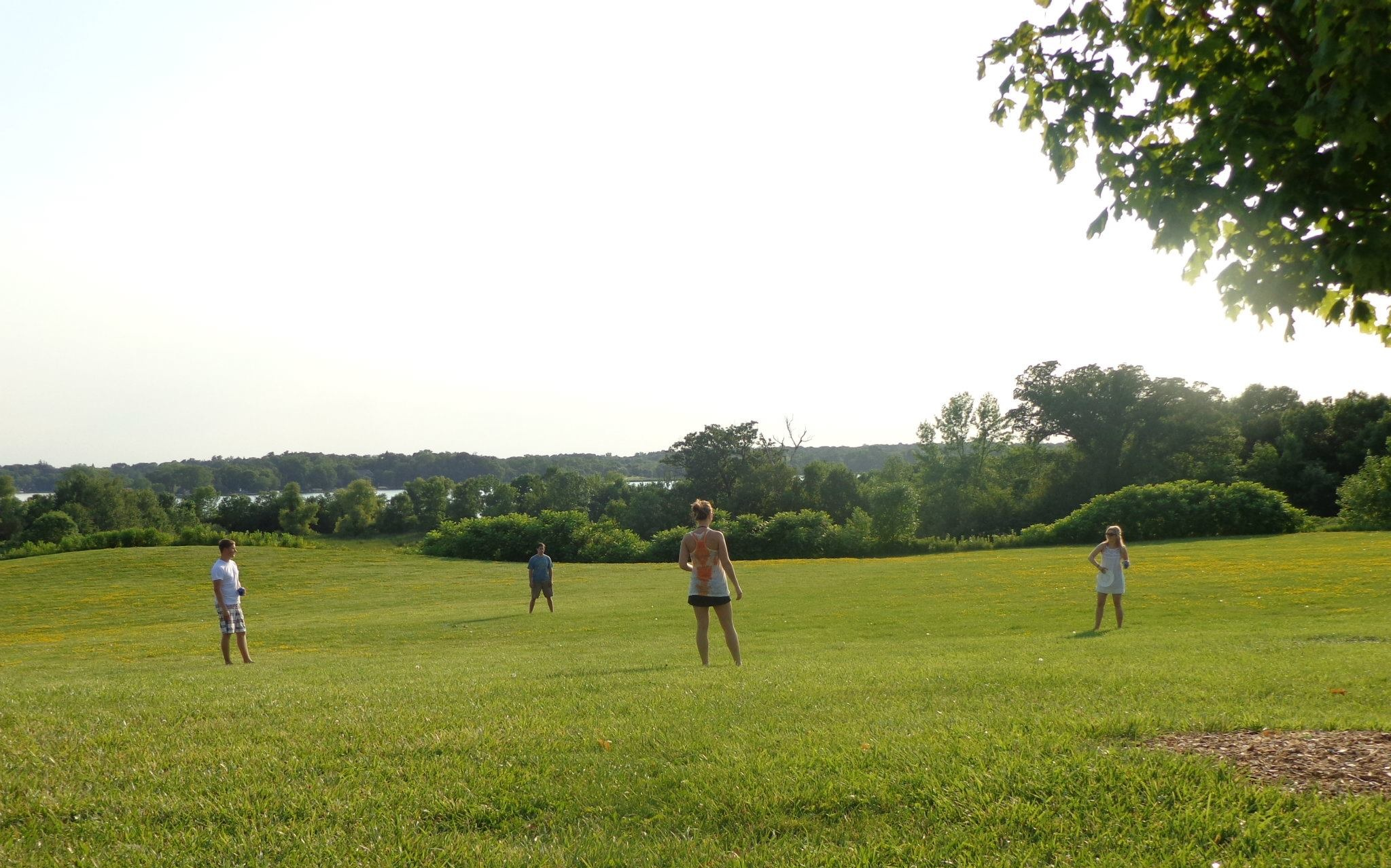 Summer in Minnesota. Circa 2011.