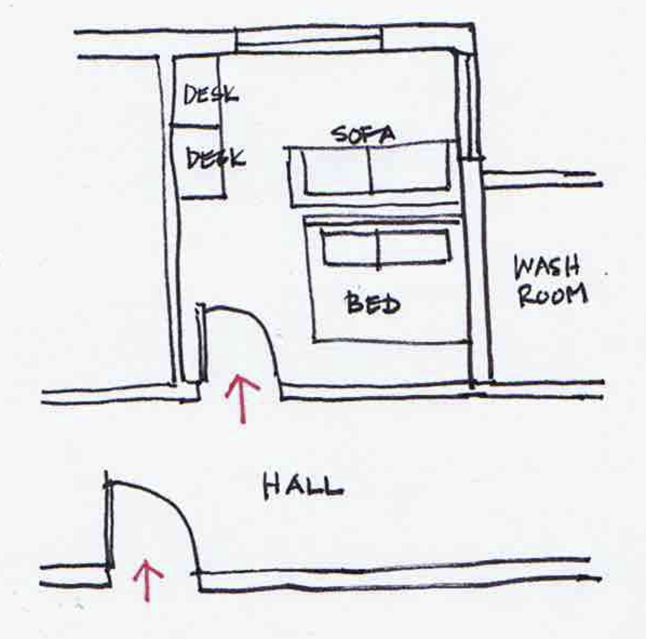 Q&A Sunday- Feng Shui for Bedrooms_Sketch.jpg