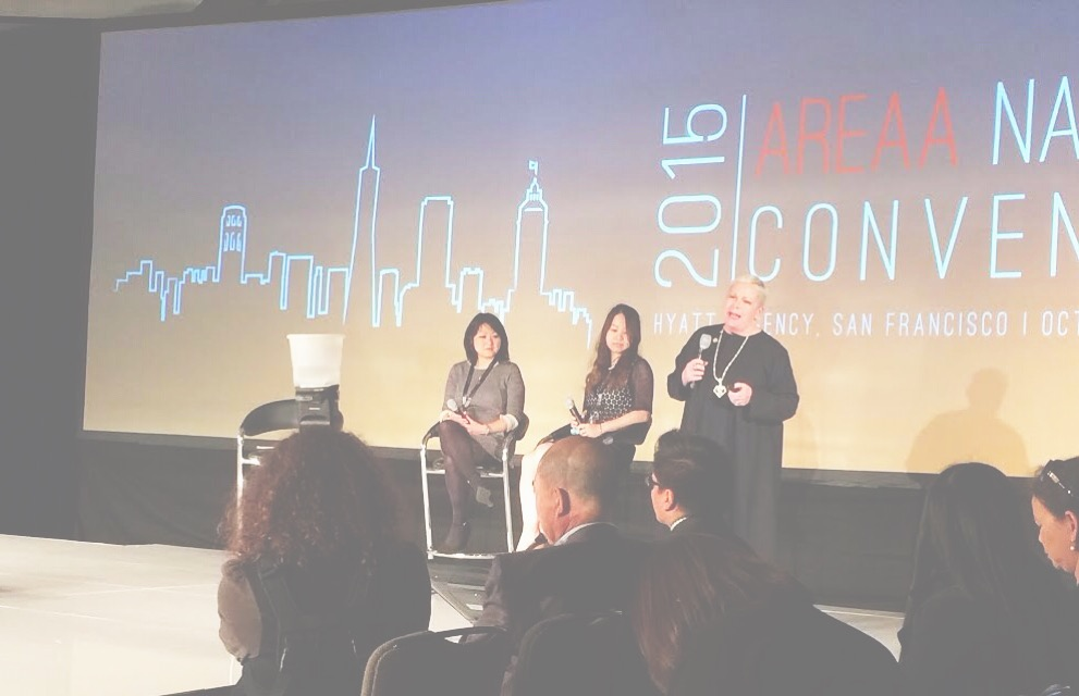 #latergram of me at the  #AREAA national convention - panel on the  re-emergence of fengshui  in San Francisco!