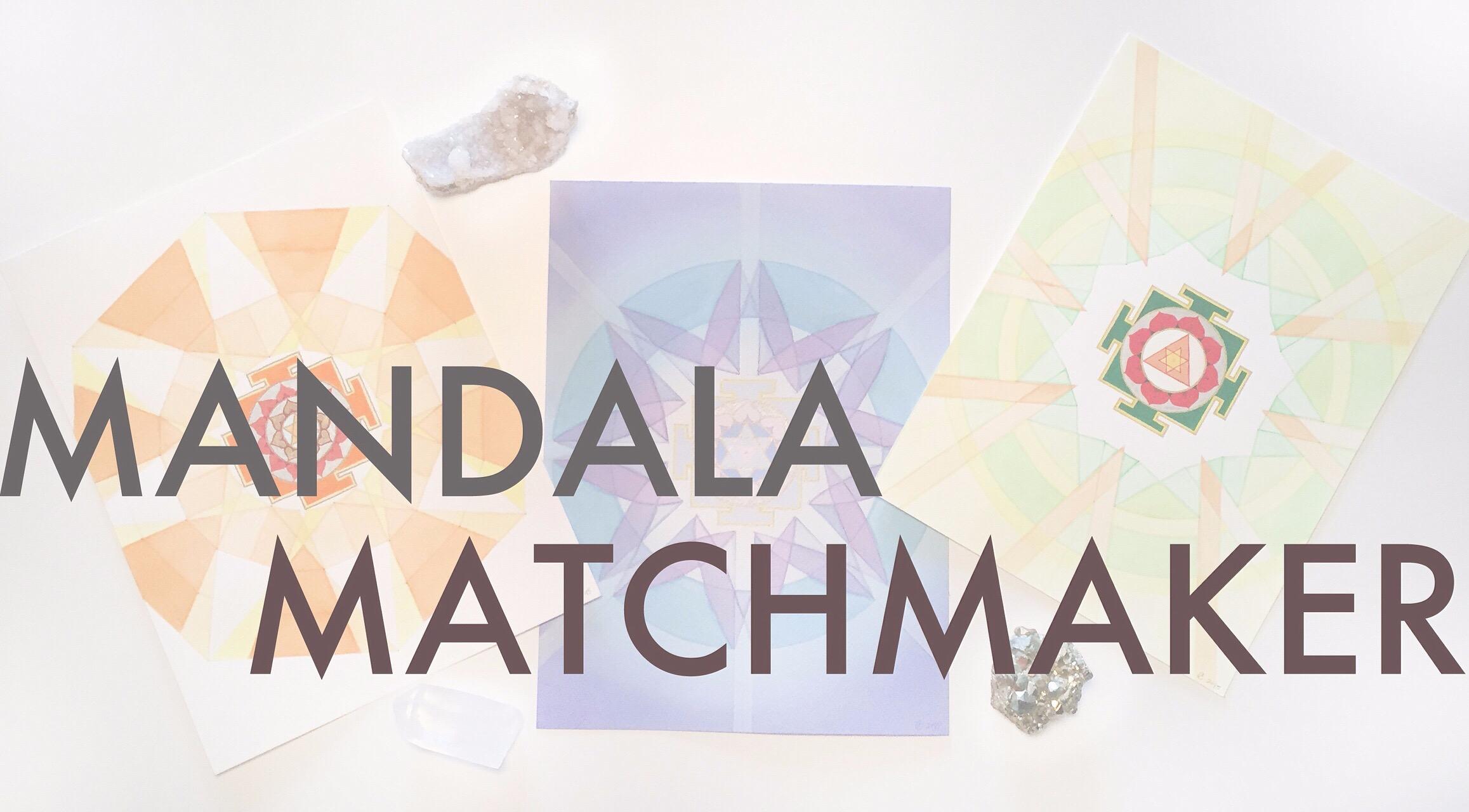 check out my new  #MandalaMatchmaker on  holisticspaces.com  - what  mandala  is best for you? #holisticspaces  #mandala  #sacredart  #fengshui