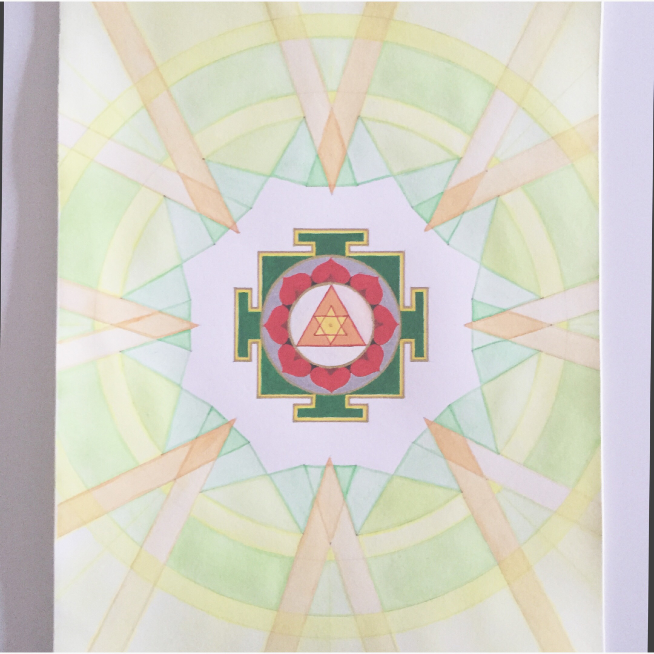 hello  #MantraMonday !!  ganesha  leads us to the awareness that we're always safe. remover of obstacles and easy to please.  mantra: om ganapataye namaha om   #mantra   #yantra   #mandala   #ganesha   #vedic