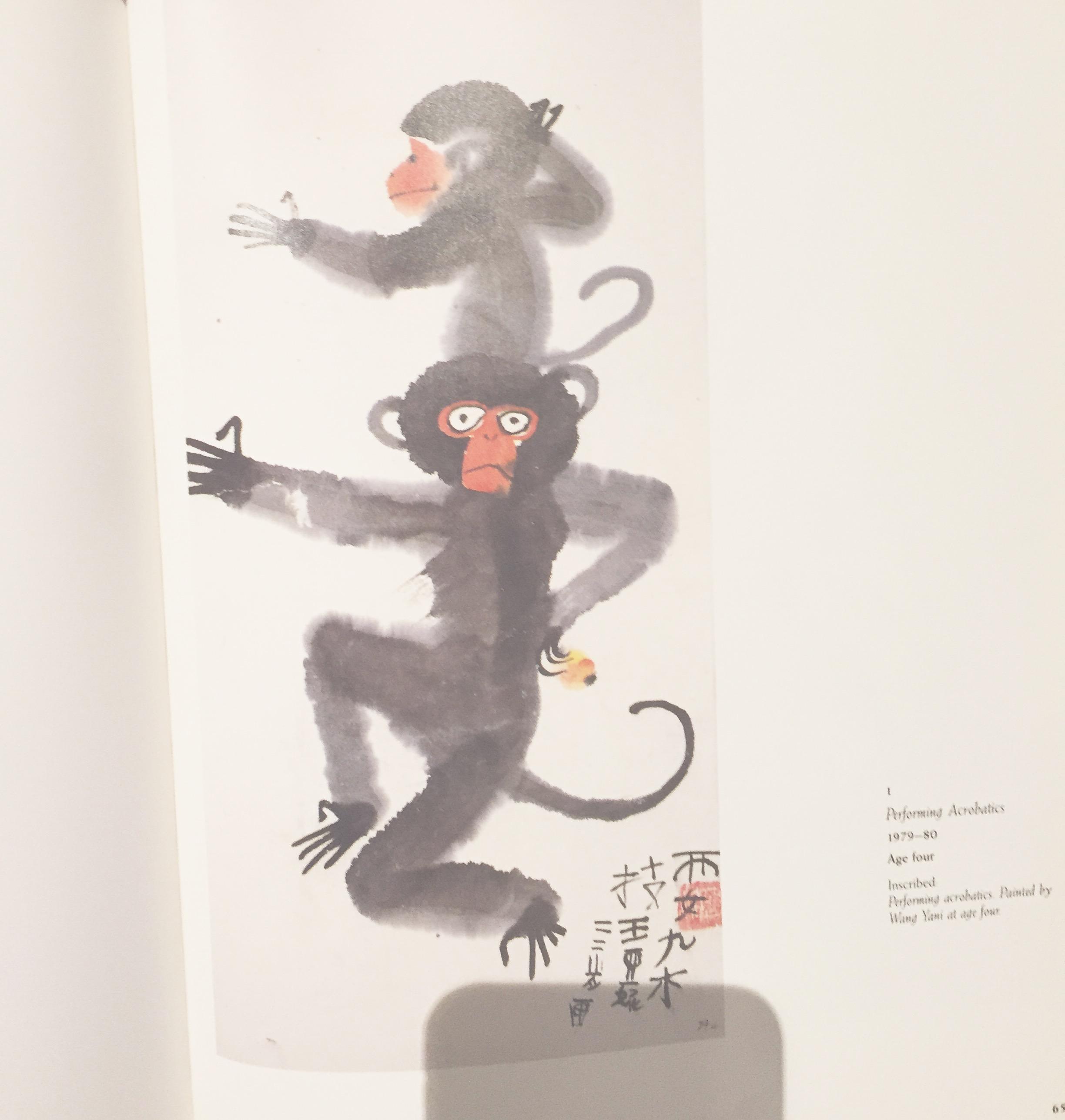 Funny monkeys  #yearofthemonkey inspiration from  #yani painted with  #sumiink