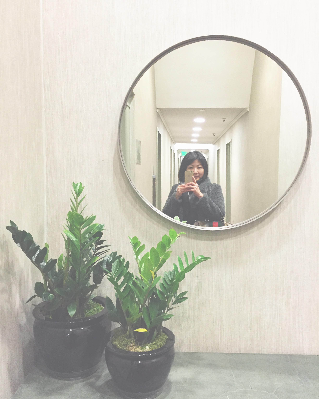 Lobby selfie! #sitevisit  #interiors