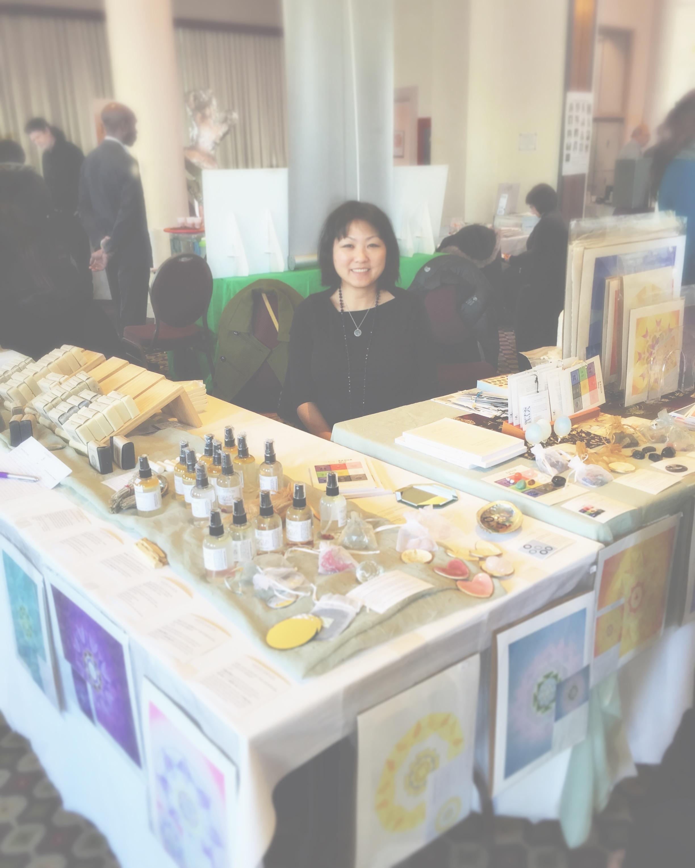 My last fair! Come visit us! #awakenfair  #holisticspaces  #fengshui