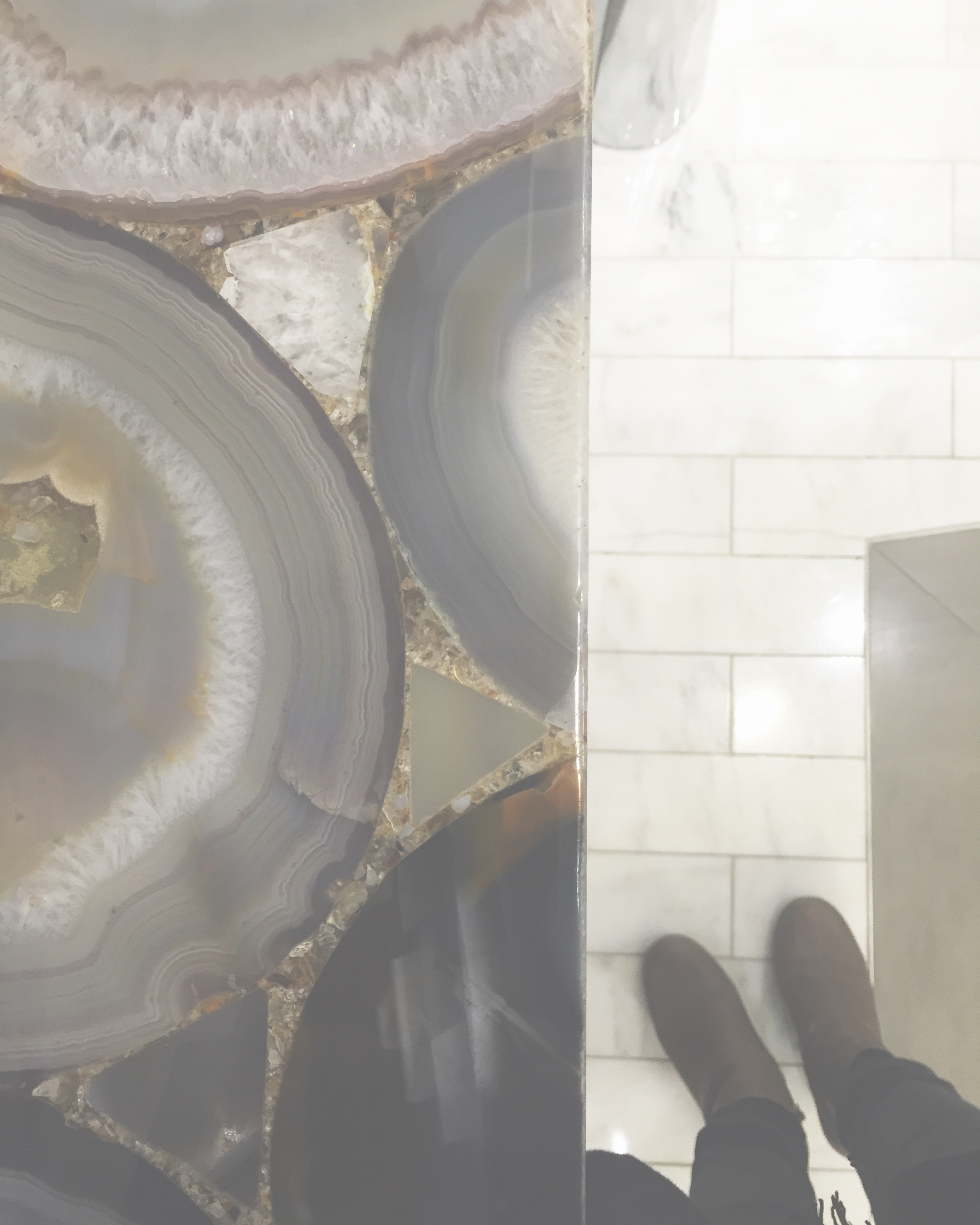 Flashy  #agate  countertop  #naturalstone  #interiors  #lovemywork