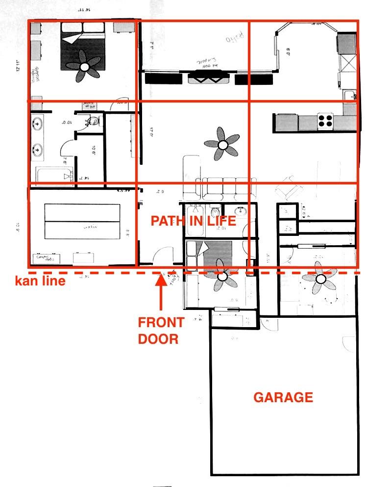 Does the Feng Shui Bagua Map Include the Garage - Floorplan.jpg