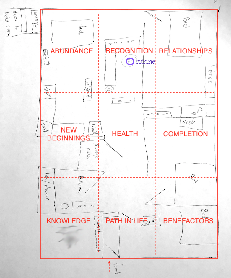 Feng Shui for a Yoga Teacher - Floor Plan.png