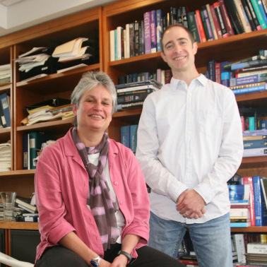 Catherine Dulac and Stephen Santoro  Courtesy of Molecular and Cellular Biology. See Related Story:  Novel Histone Variant Shaping Olfactory Neurons Published In eLife at its Official Launch