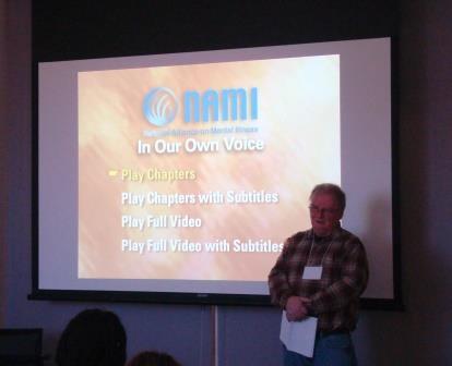 Daniel Sullivan (NAMI) discusses his personal accounts and experiences.