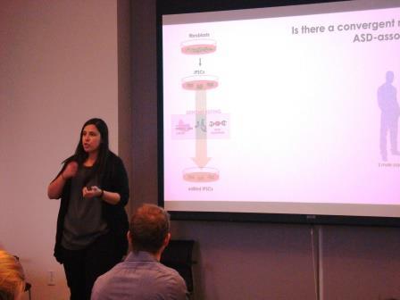 Bruna da Silveira Paulsen, PhD, Arlotta Lab talks about Autism and organoids.